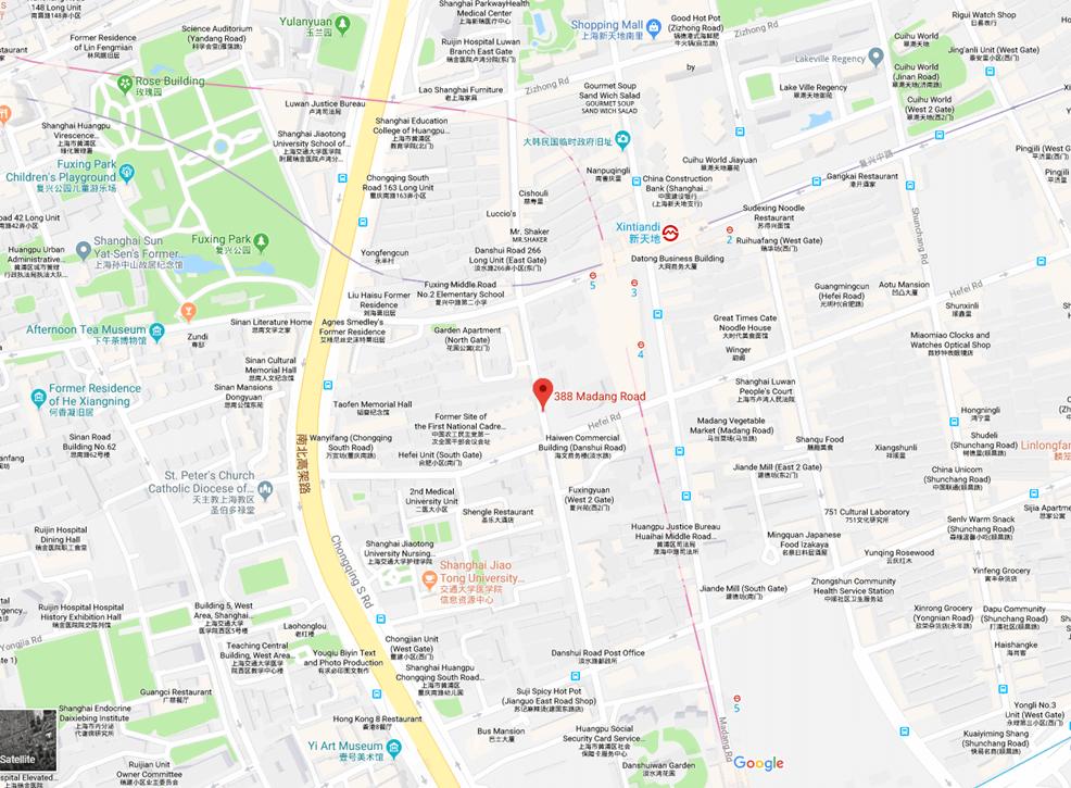 shanghai roads atalent office location